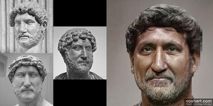 Hadrian By Daniel Voshart