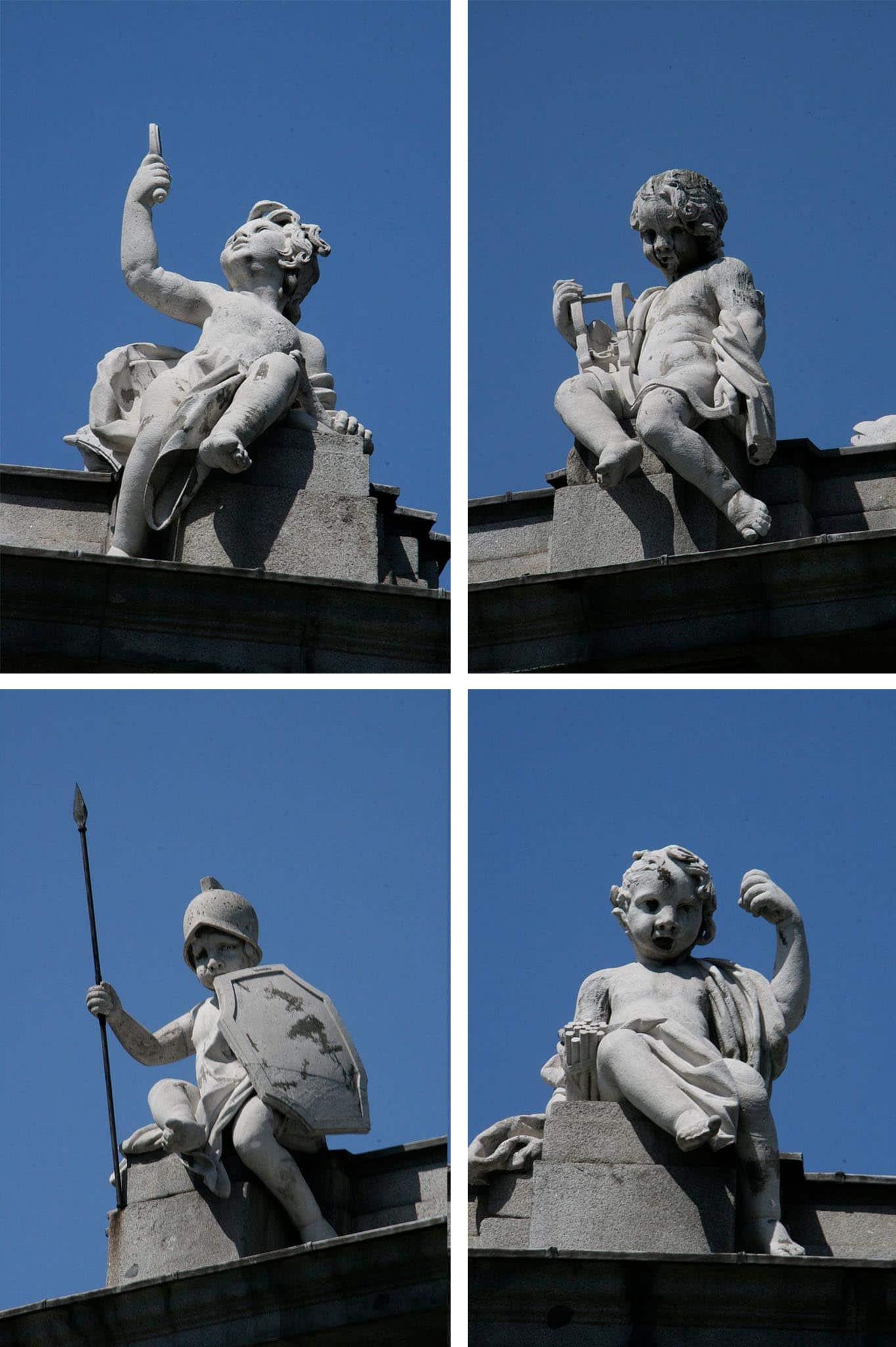 Esculturas de la Puerta de Alcalá