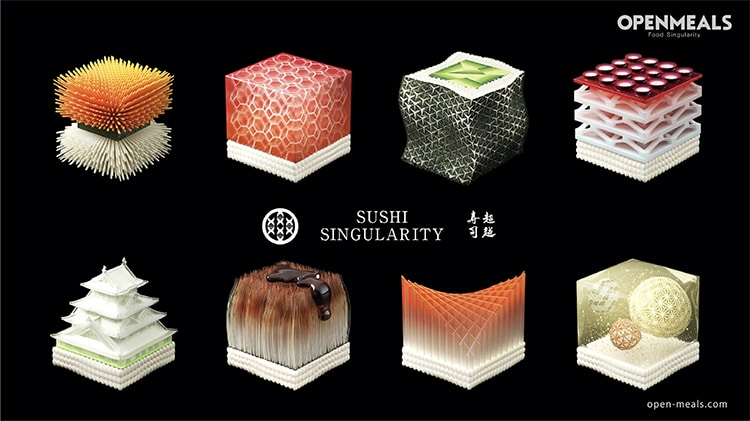 Sushi Singularity Open Meals Sushi Examples