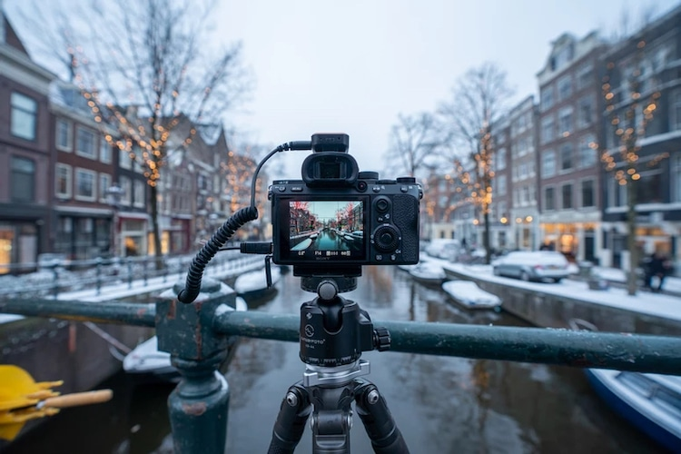 Shooting a Time Lapse in the Winter