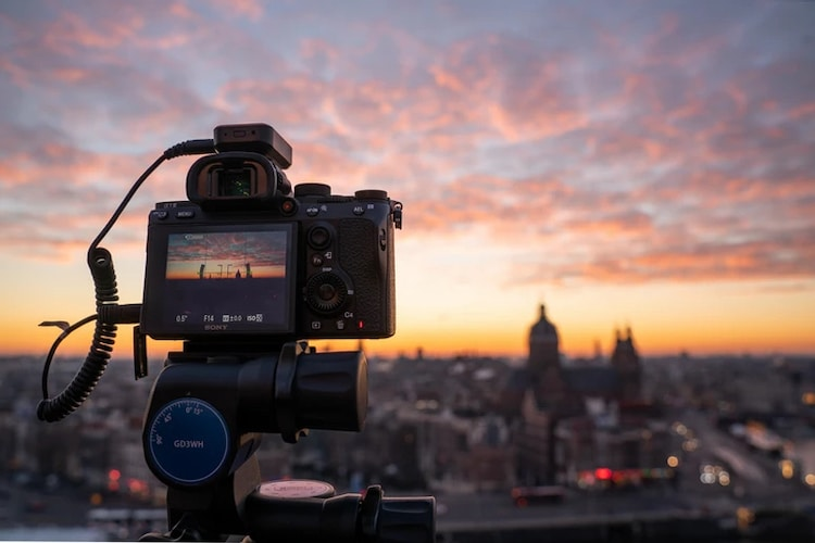 Time Lapse Setup by Albert Dros