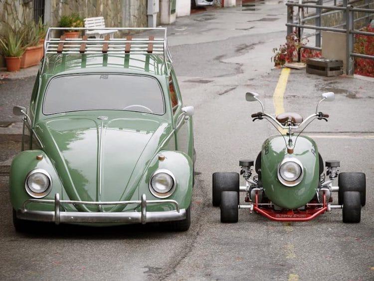 Rendering of VW Beetle Mini Kart