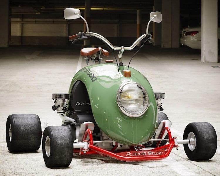 Volkswagen Beetle Mini Kart by Aldekas Studio