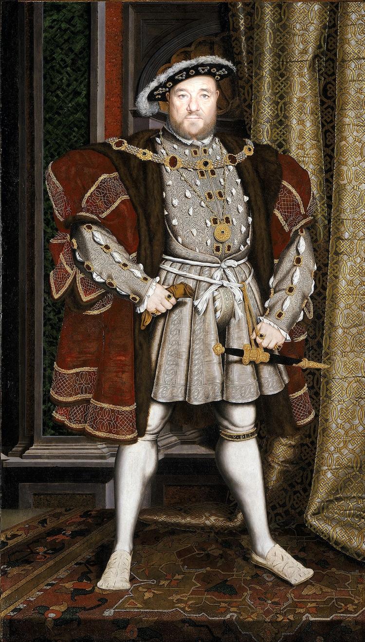 Bill Murray como Enrique VIII