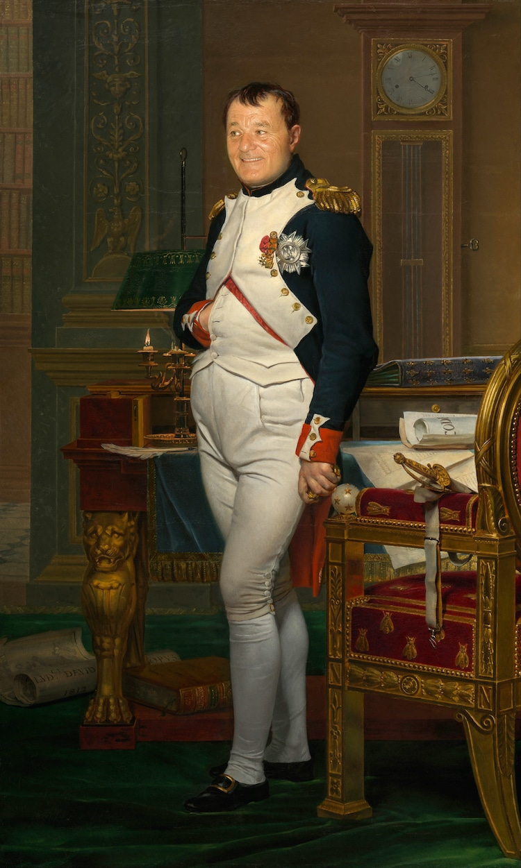 Bill Murray como Napoleón
