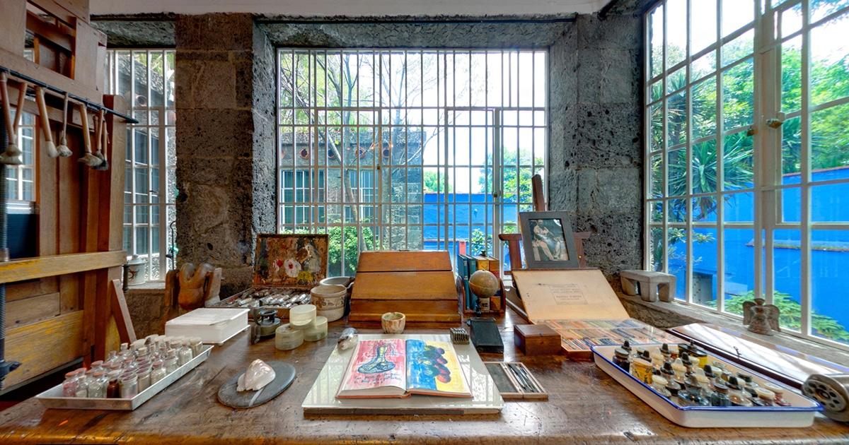 Explore Frida Kahlo S Blue House Through Museum Virtual Tour