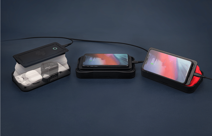 Cell Phone Sanitizer and Wireless Charger