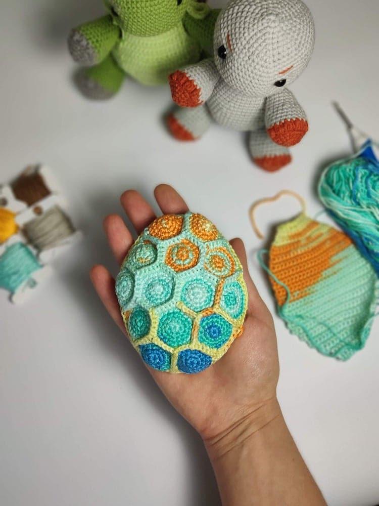 tortuga de crochet por Toysneed