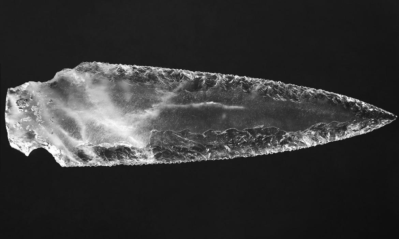 Prehistoric Crystal Dagger Blade from Montelirio Tholos