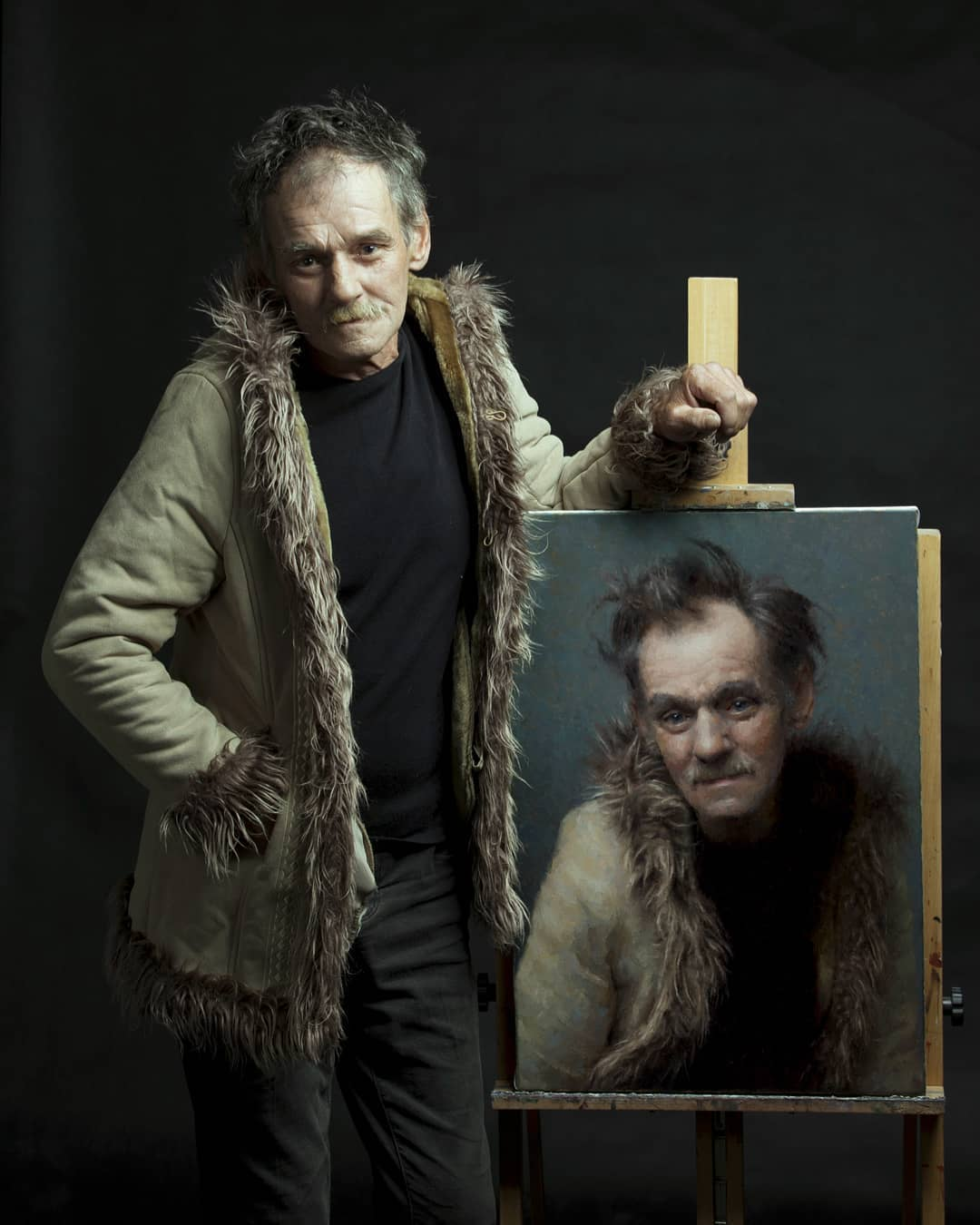 Realistic Portraits by Damian Lechoszest