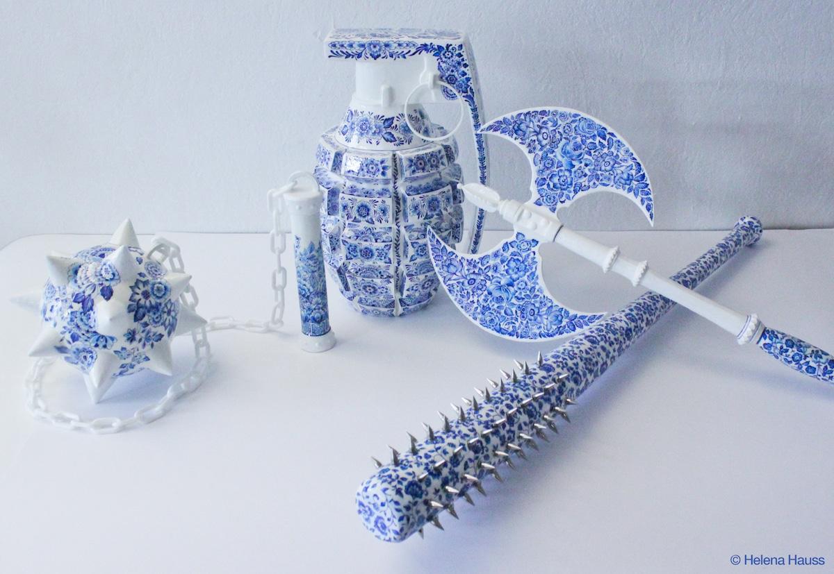 armas de porcelana Helena Hauss