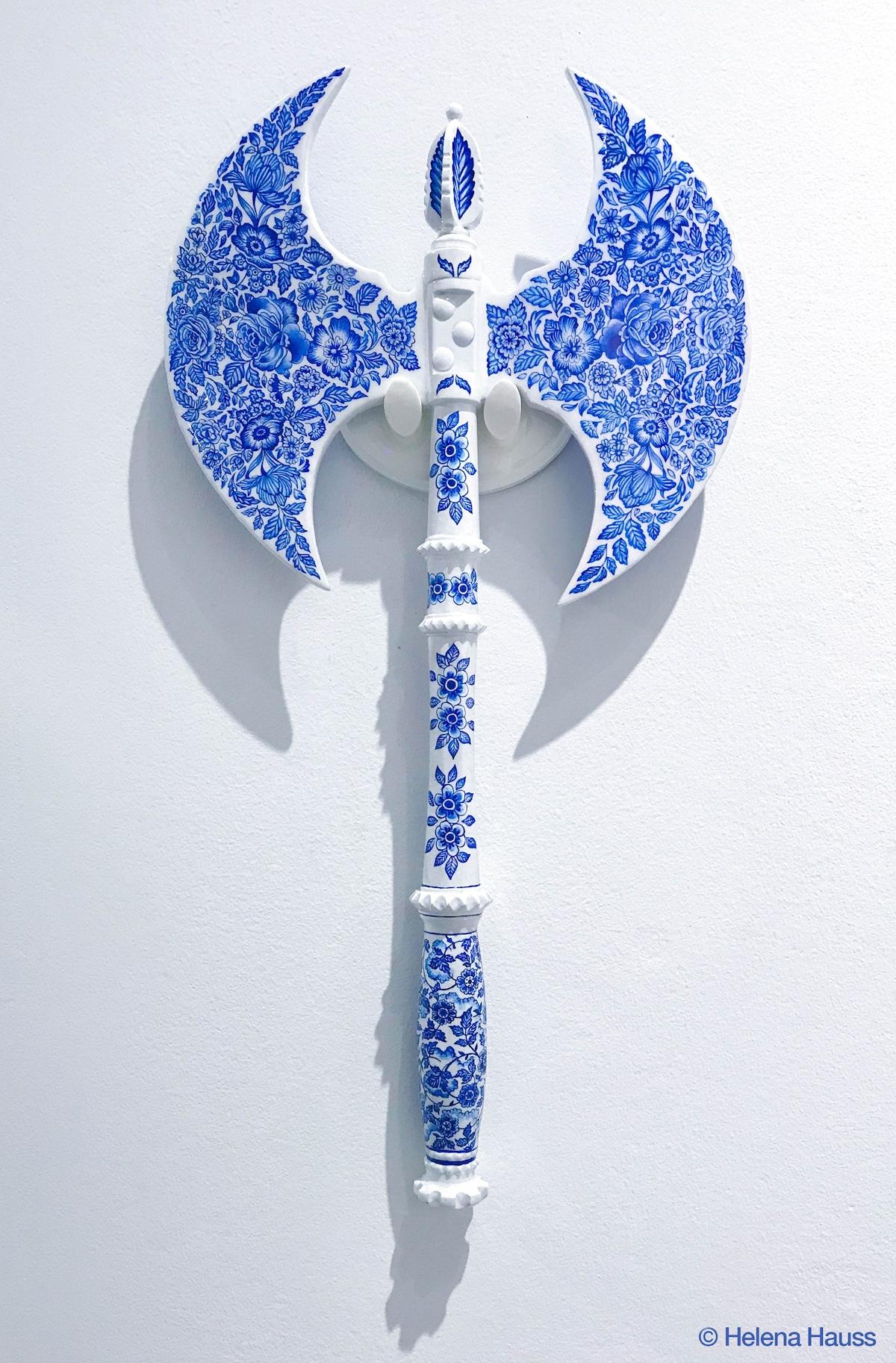 armas de porcelana por Helena Hauss