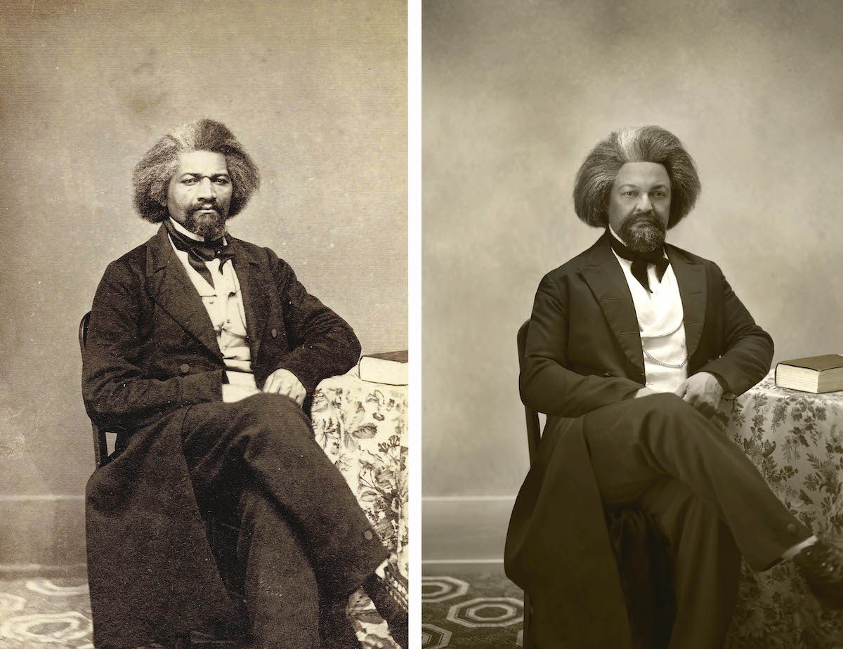 Descendiente de Frederick Douglass por Drew Gardner