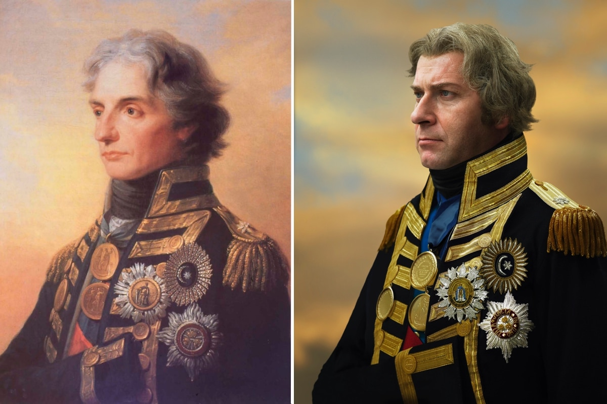 Horatio Nelson and His Descendent by Drew Gardner