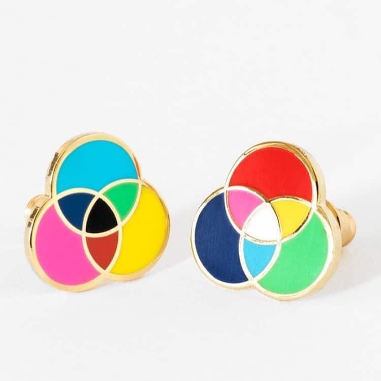 RGB & CMYK Earrings