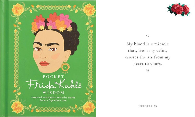 Open This Pocket-Sized Frida Kahlo Book for Inspirational Quotes on Love, Life, and Art