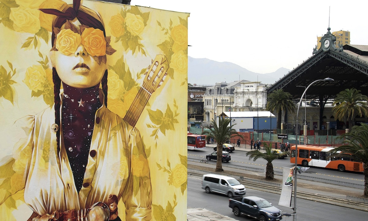 Golden Murals by INTI