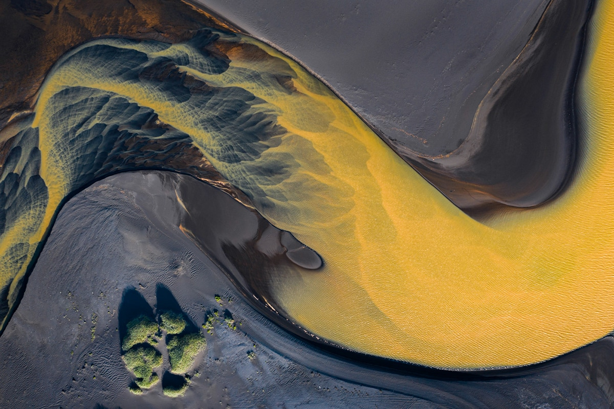 Volcanic Rivers in Iceland