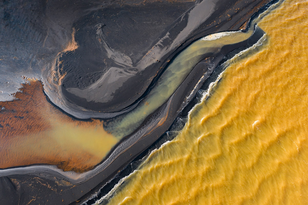 Aerial Landscape Photography in Iceland