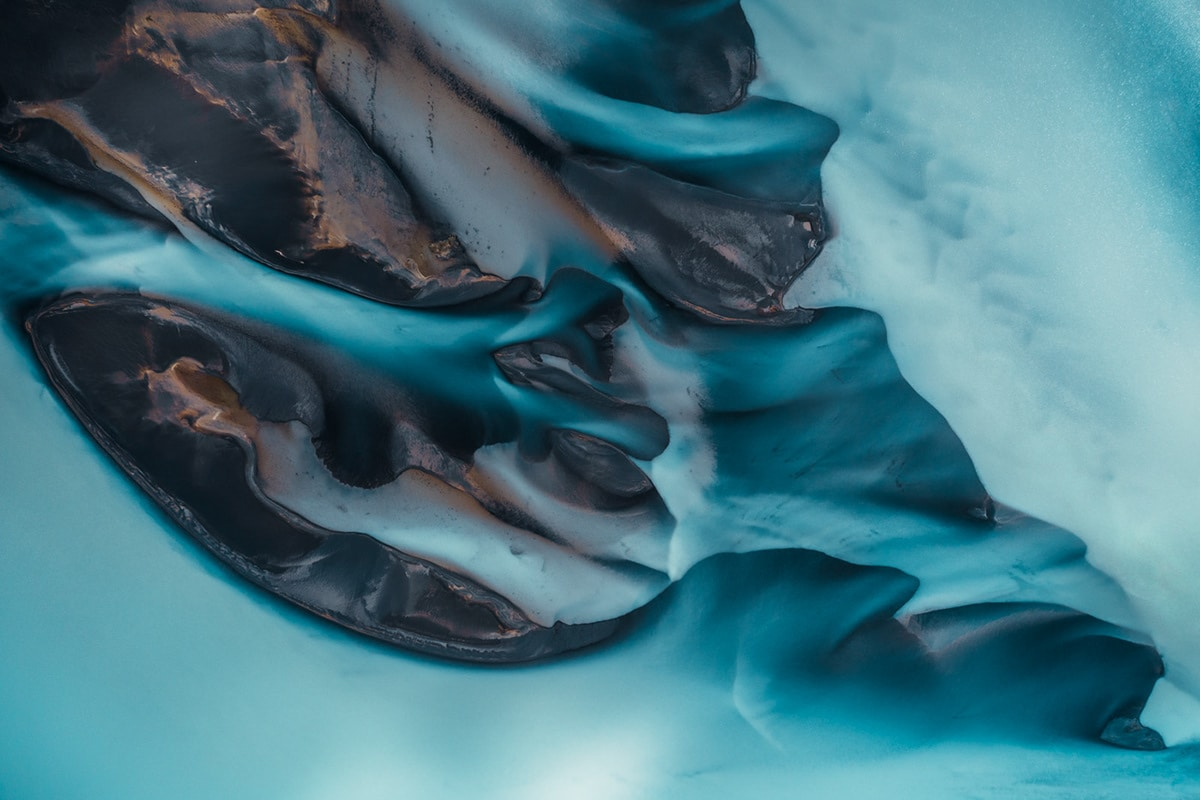 Glacial River in Iceland
