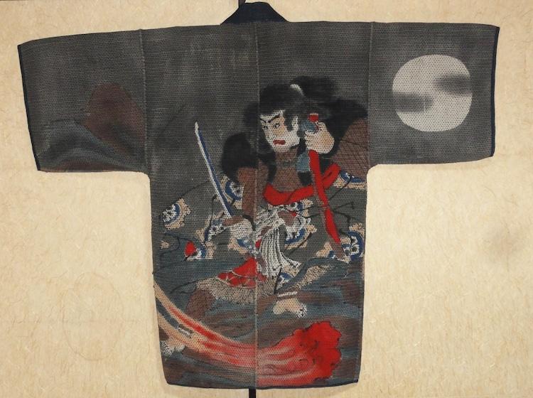 19th-Century Japanese Fireman Coat