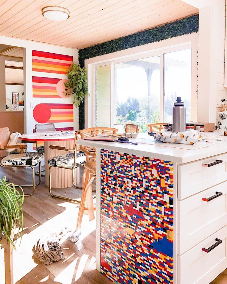 decorar con legos