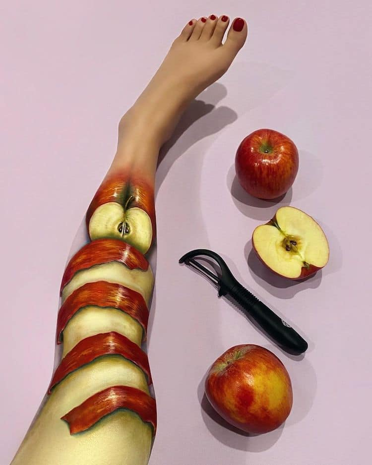 Optical Illusion Makeup by Mimi Choi