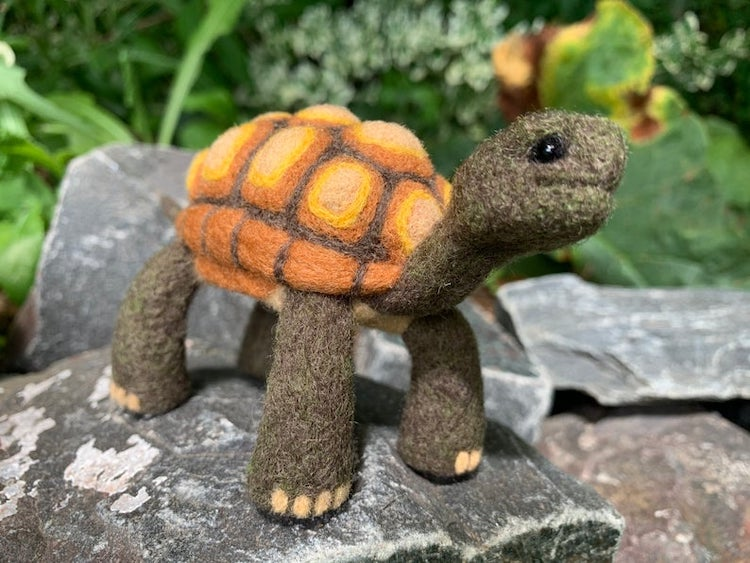 Needle Felted Animals by Teri Gullon
