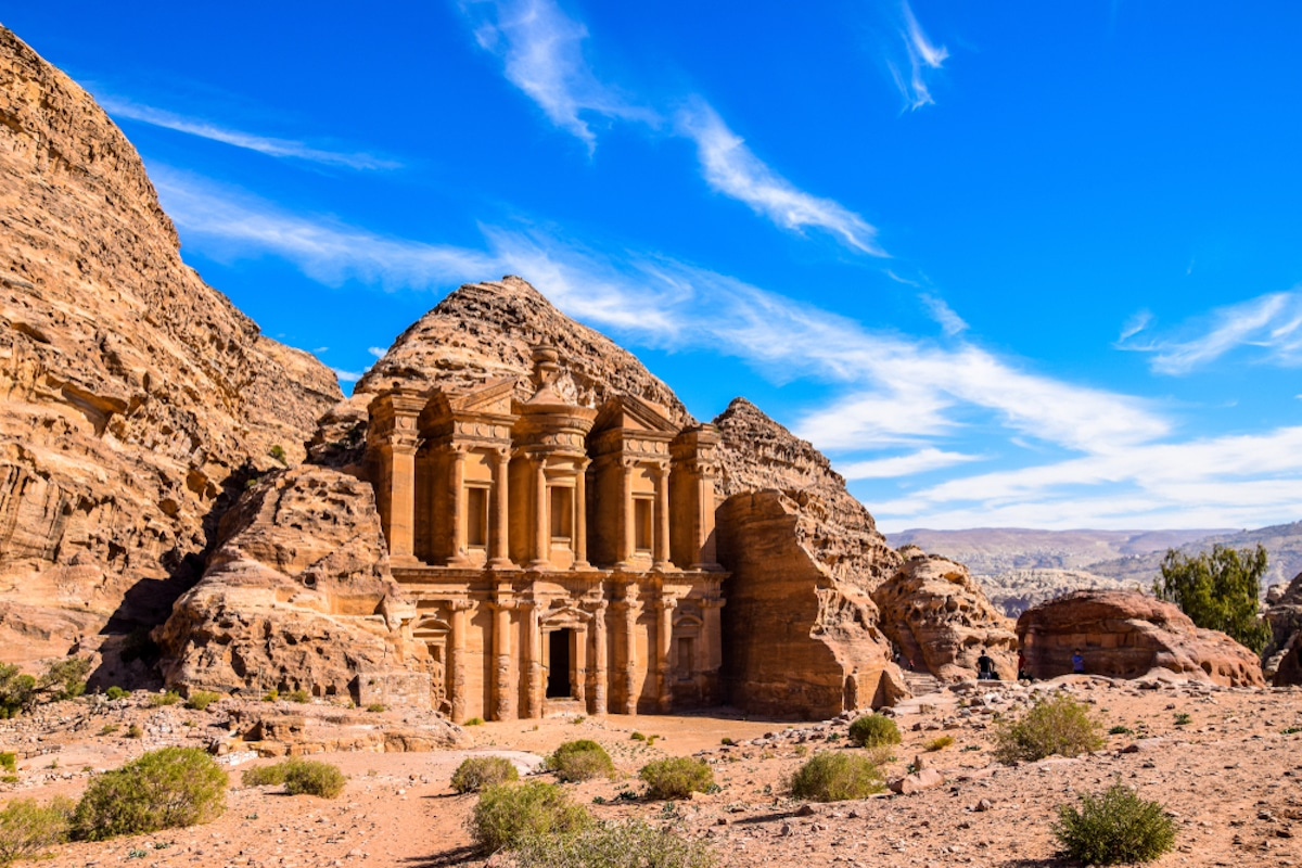 Ad Deir en Petra