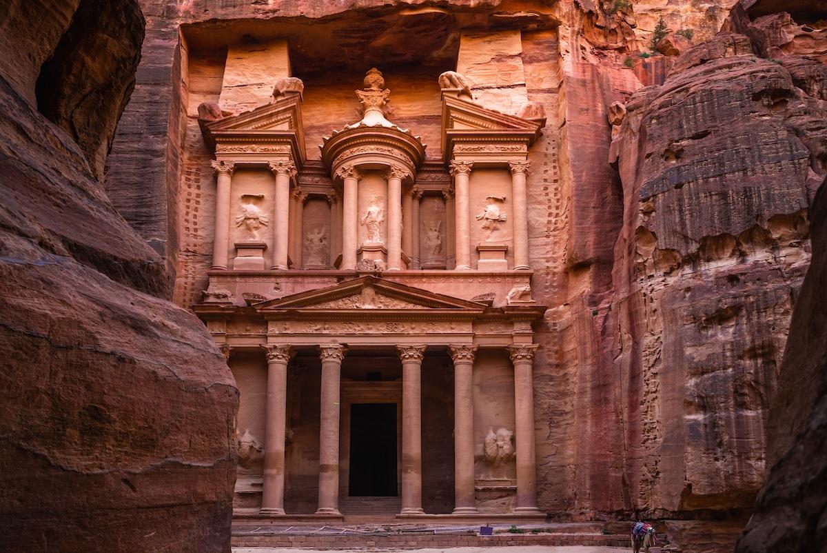 Al Khazneh en Petra