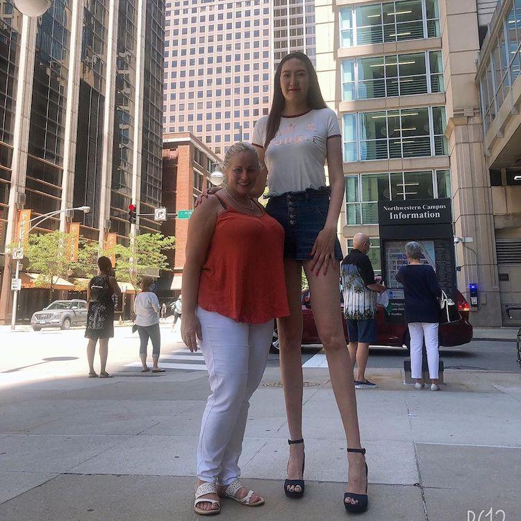 World's Tallest Woman