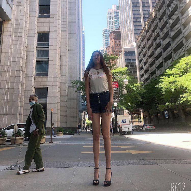 Rentsenkhorloo (aka Renny) Bud Tallest Woman in the World