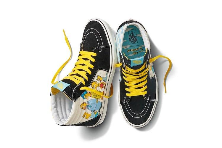 Simpsons Vans