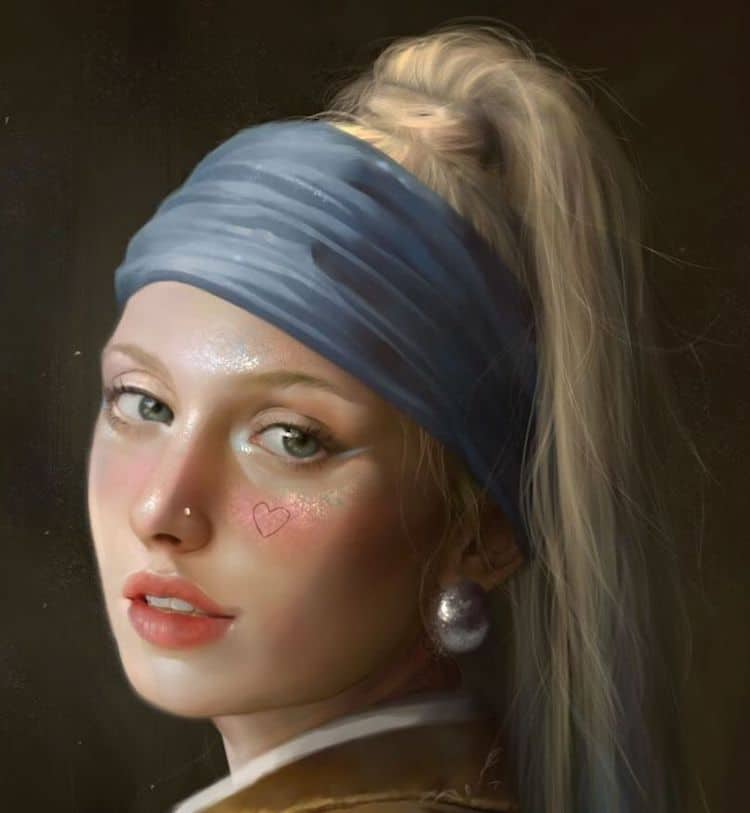 Digital Portraits by Tati Moons