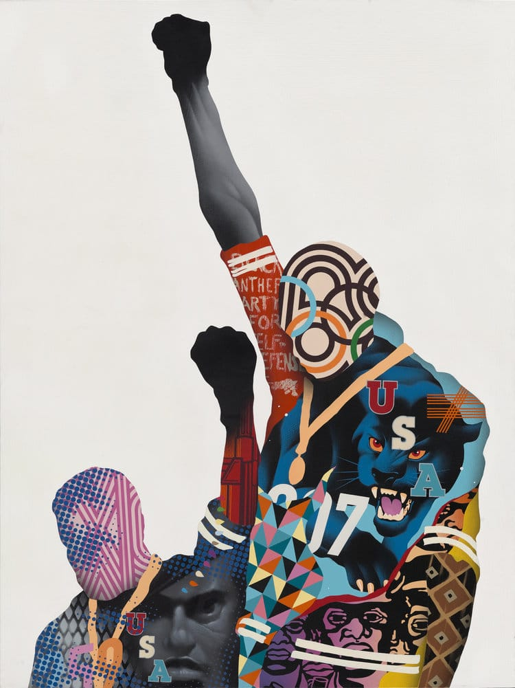 Black Panther Inspired Art by Tristan Eaton