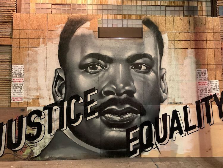 MLK Mural by Tristan Eaton
