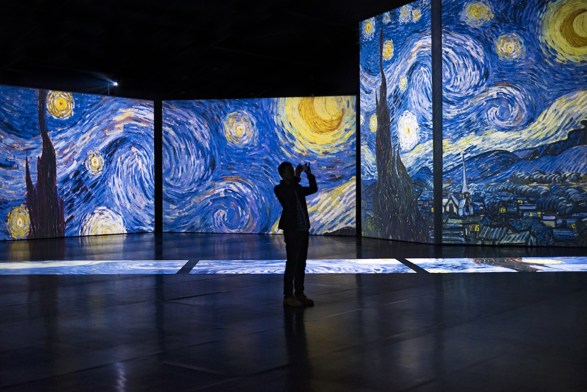 Vincent Van Gogh Comes alive with Digital Nights in Wellington