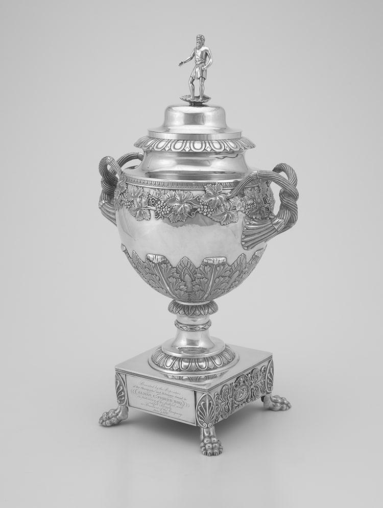 Neoclassical Silver Urn 1830