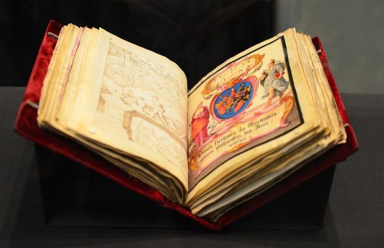 Friendship Book the Große Stammbuch Of Philipp Hainhofer