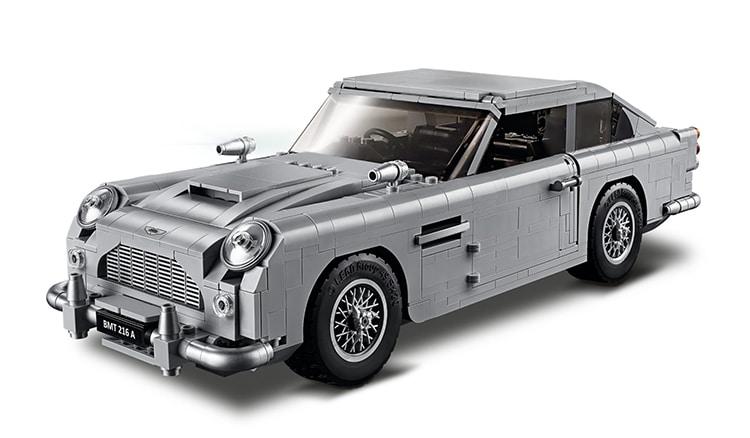 Aston Martin James Bond LEGO Set