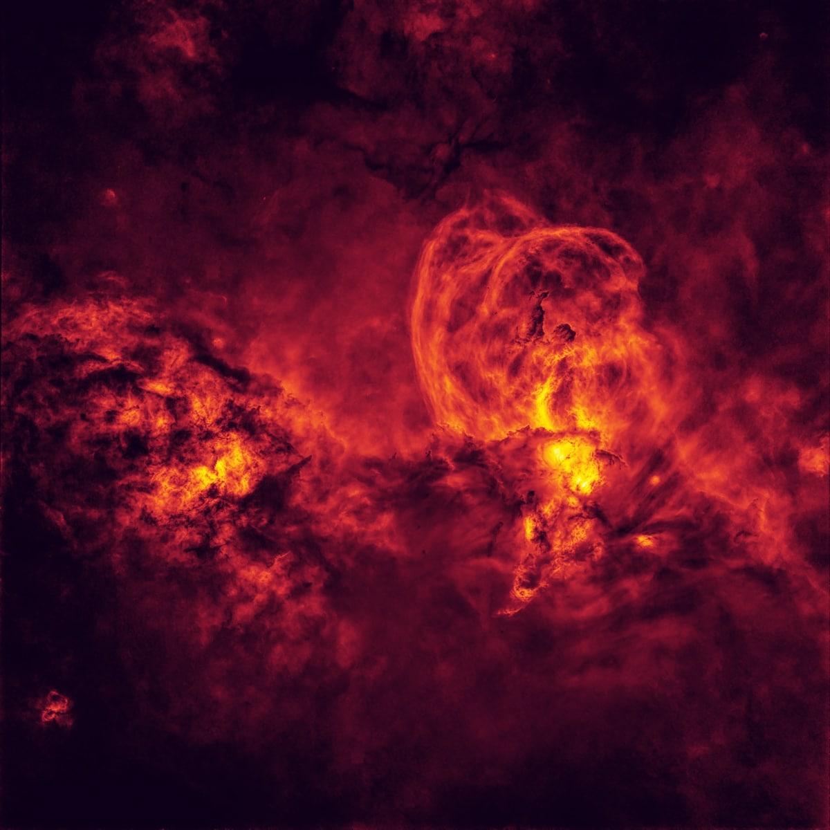NGC 3576 Nebula