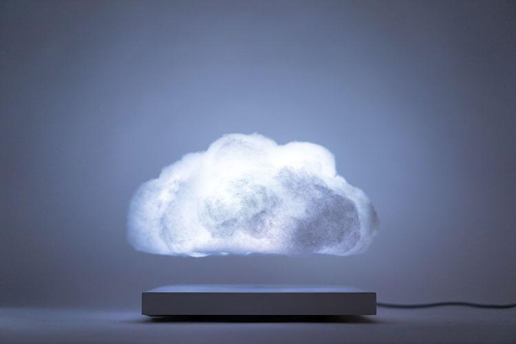 Floating Cloud Lamp Richard Clarkson Studio