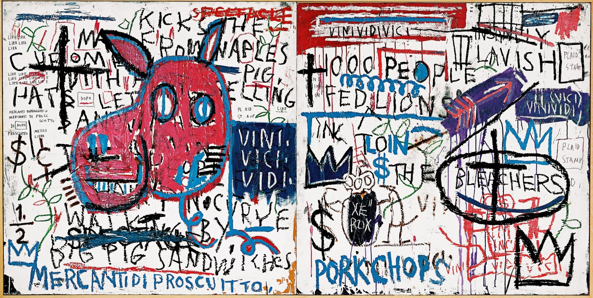 El hombre de Nápoles de Jean Michel Basquiat