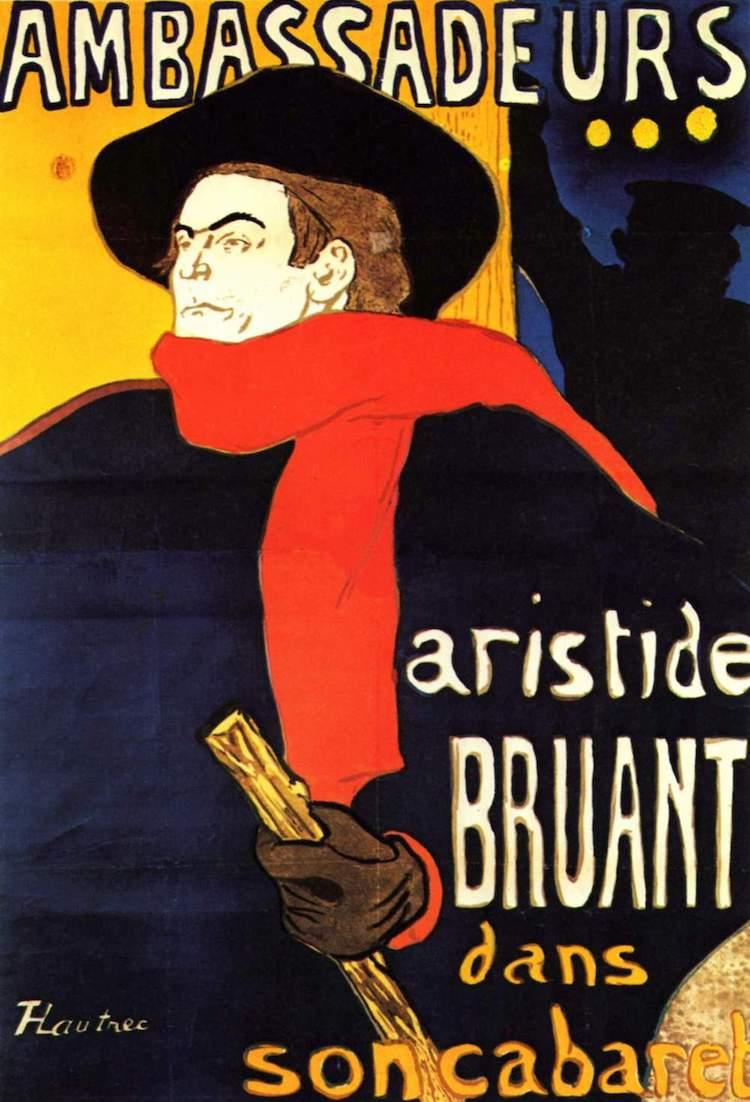 Litografía de Toulouse Lautrec