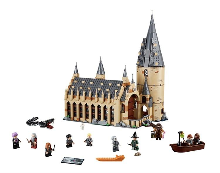 Hogwarts Great Hall LEGO Set