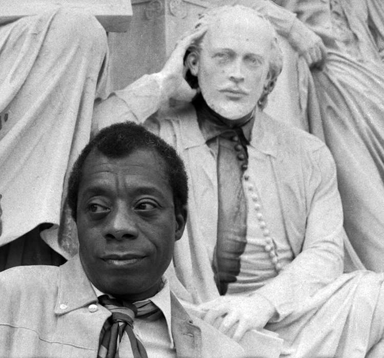 James Baldwin By Allan Warren