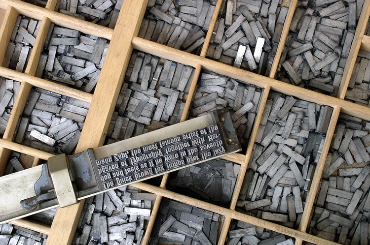 Metal Moveable Type