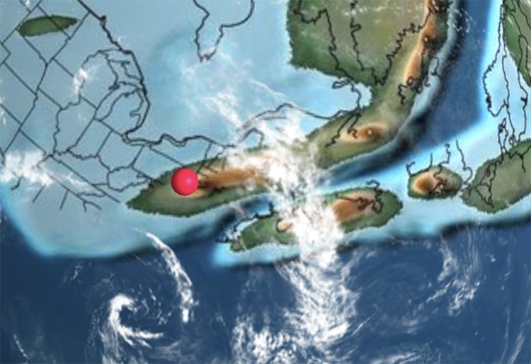 NYC 430 Million Years Ago Ancient Earth