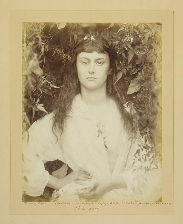 Alice Liddell As Pomona By Julia Margaret Cameron
