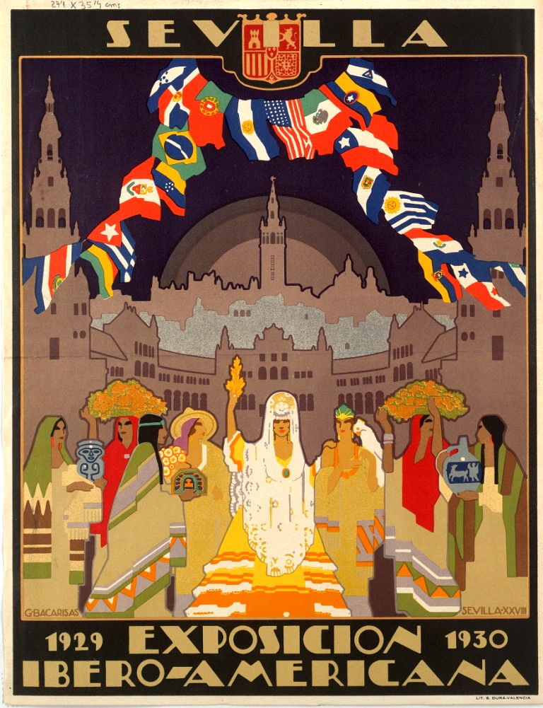 Póster de la Exposición Iberoamericana de 1929